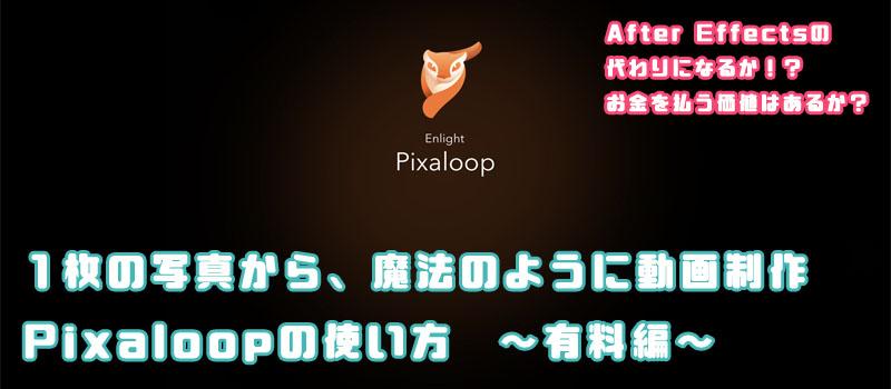 pixaloop 使い方 課金