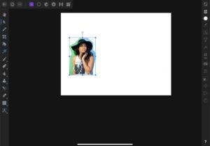 Affinity Photo 選択範囲