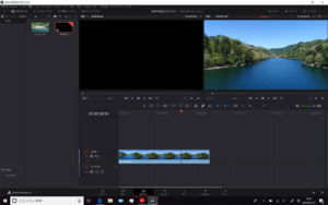 OneMix 3s davinci resolve