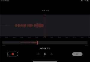 iOS オーディオインターフェース 使い方