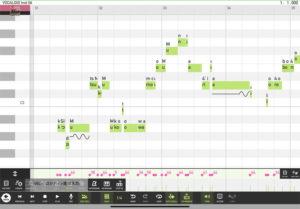 iPad vocaloid