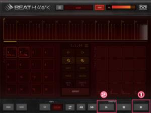 iOS BeatHawk 使い方 DTM