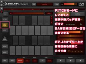 iOS BeatHawk DAW プラグイン
