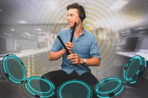 AeroBand ポケットドラム バスドラム フットペダル