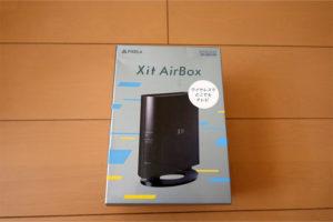 Pixela XIT-AIR110W Xit AirBox レビュー 車載TV