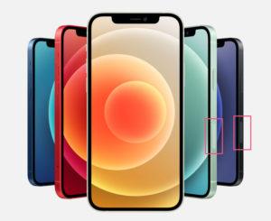 iPhone 12 ミリ波 日本 アメリカ版