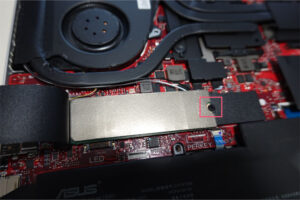 Zephyrus G14 SSD 交換 増設